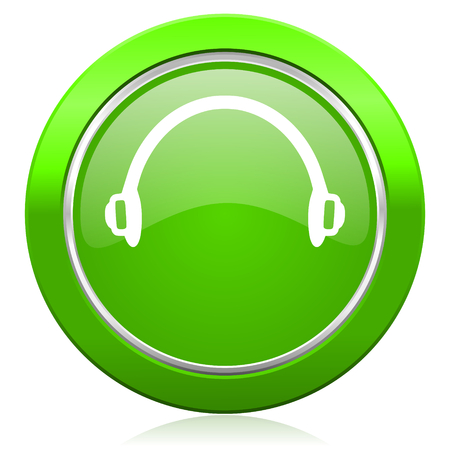 headphones icon photo