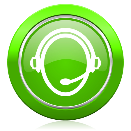 customer service icon photo