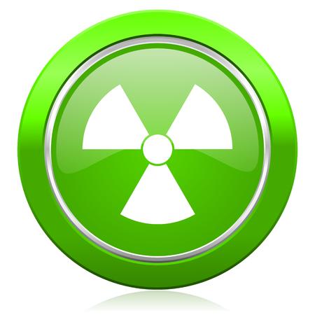 radiacion: radiaci�n signo icono �tomo
