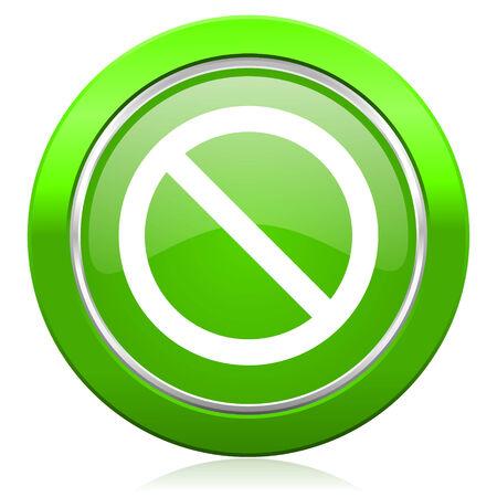 access denied icon: access denied icon Stock Photo