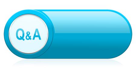 control de calidad: icono de ruegos y preguntas