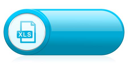 bibliography: xls file icon Stock Photo