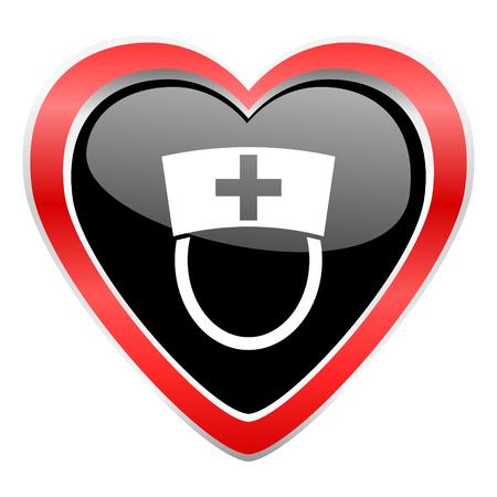 hospital sign: nurse icon hospital sign