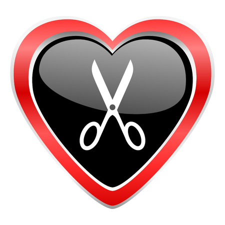 scissors icon: scissors icon cut sign