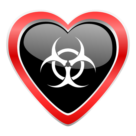 biohazard: biohazard icon virus sign