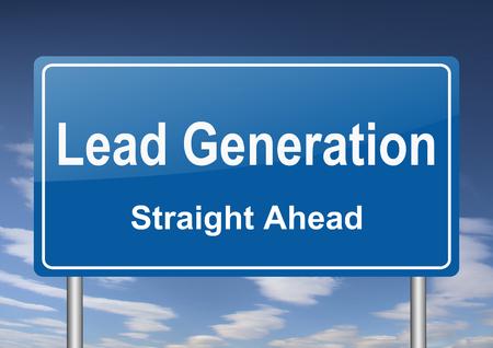 generation: lead generation sign