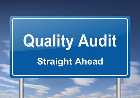 audit: quality audit sign