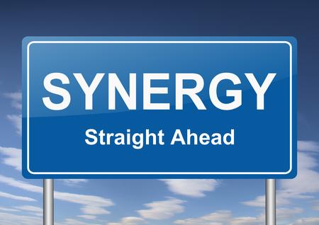 sinergia: signo sinergia