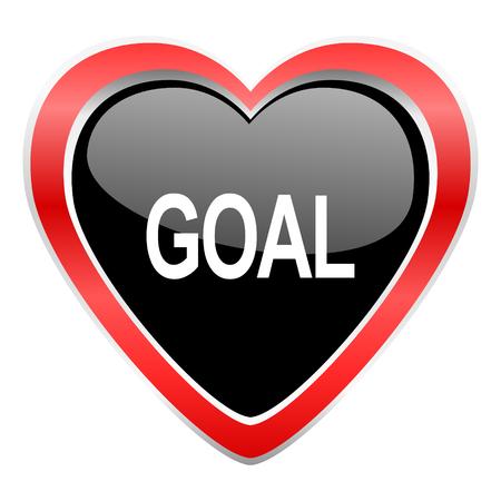 romance strategies: goal icon Stock Photo