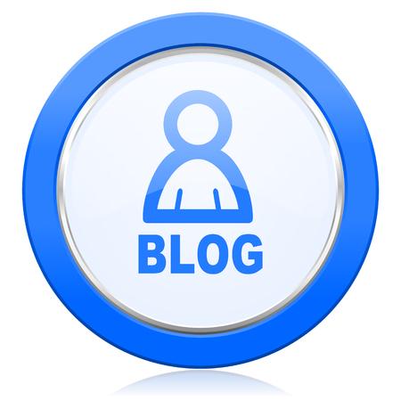 blog icon: blog icon Stock Photo