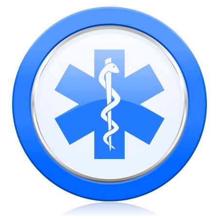 hospital sign: emergency icon hospital sign