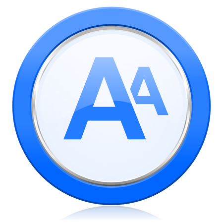 alphabet icon photo