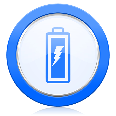 battery icon power sign photo