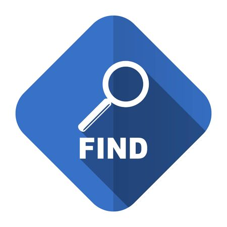 to find: find flat icon