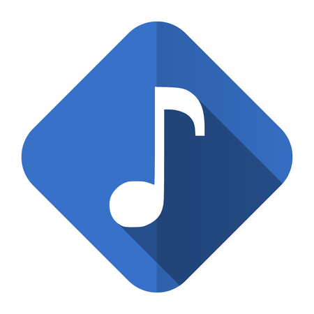 music flat icon note sign photo
