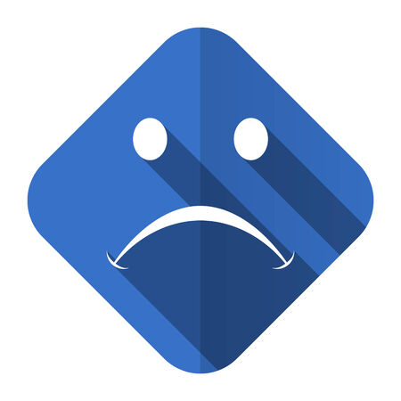 negate: cry flat icon