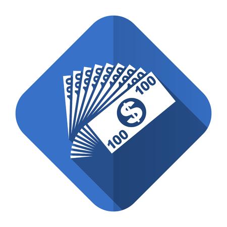 money flat icon cash symbol photo