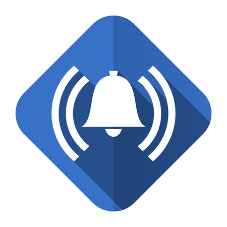 alarm flat icon alert sign bell symbol photo