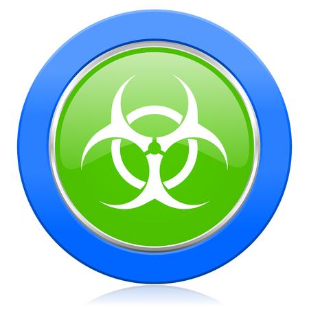 biohazard icon virus sign photo