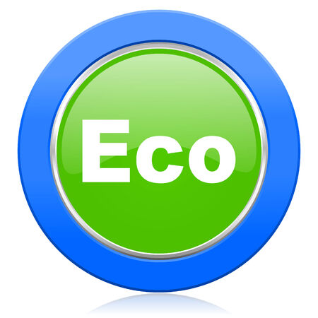 eco icon: eco icon ecological sign