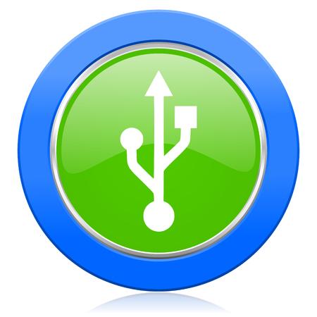 flash memory: usb icon flash memory sign