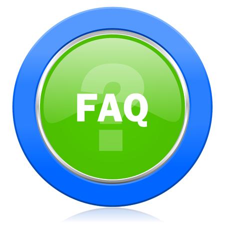 faq icon: faq icon Stock Photo