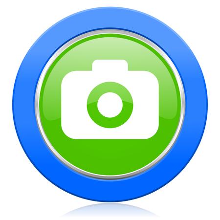 picto: photo camera icon photography sign