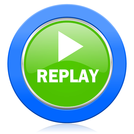 replay icon photo