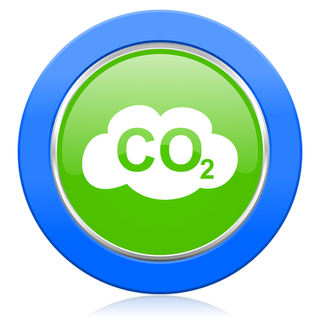 dioxide: carbon dioxide icon co2 sign
