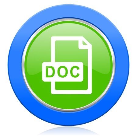 bibliography: doc file icon