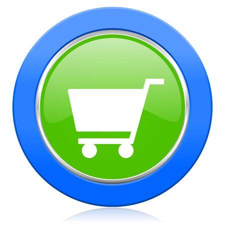 shop sign: cart icon shop sign