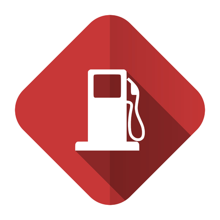 petrol flat icon gas station sign photo