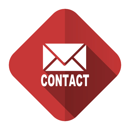 email flat icon contact sign photo