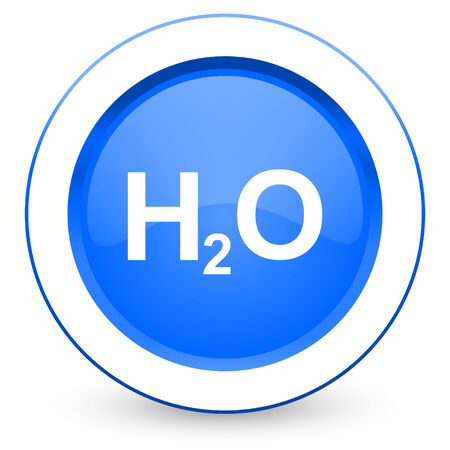 h2o: water icon h2o sign