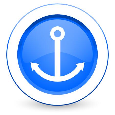 anchor icon sail sign photo