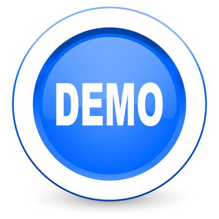 demo icon photo