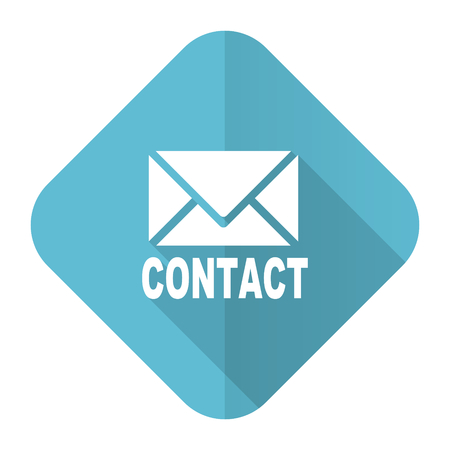 email contact: email flat icon contact sign