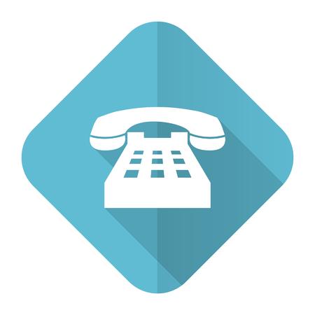 phone flat icon telephone sign photo