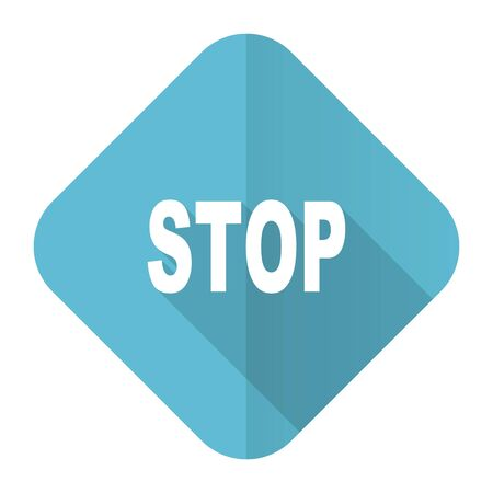 proscribed: stop flat icon