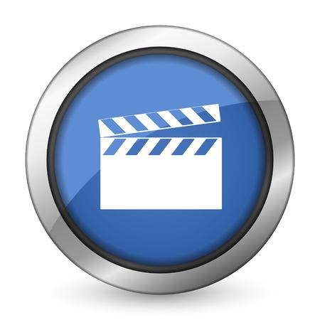directors cut: video icon cinema sign Stock Photo