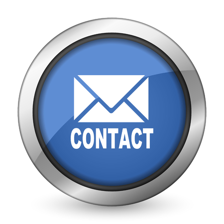 secretariat: email icon contact sign Stock Photo