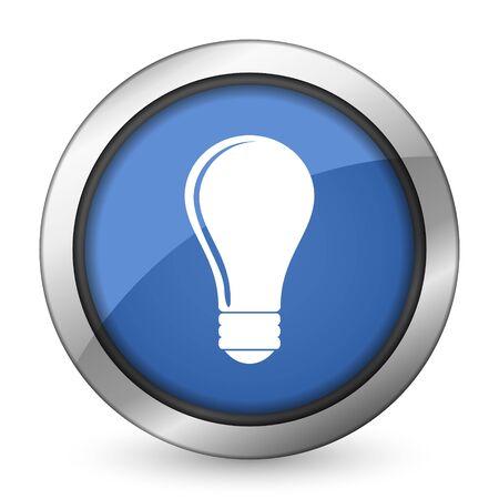 bulb icon idea sign photo