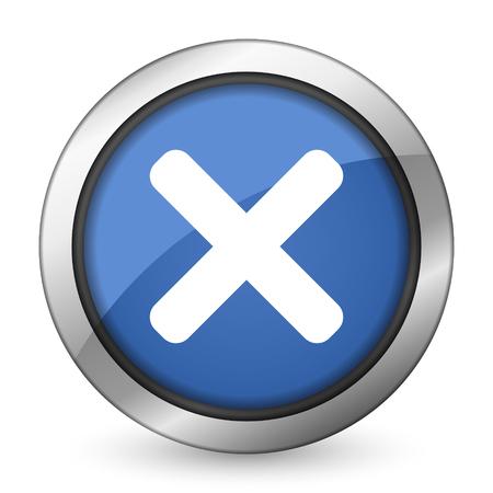 cancel icon x sign photo