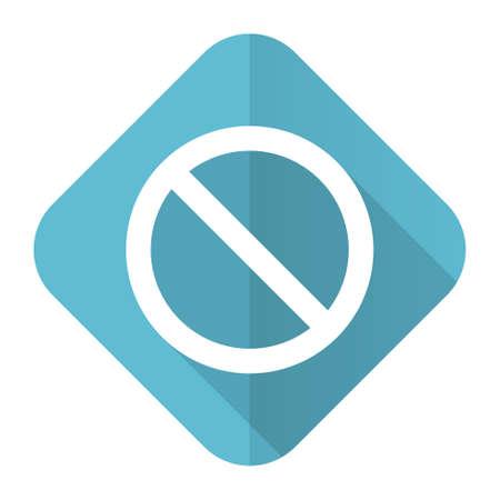 denied: access denied flat icon
