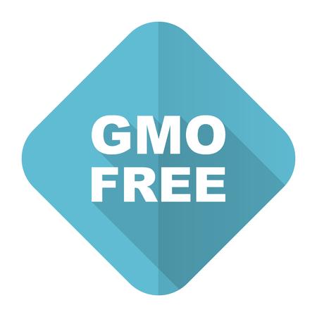 gmo: gmo free flat icon no gmo sign