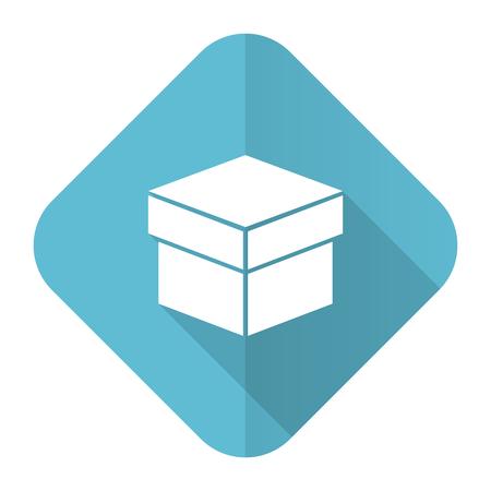 box flat icon photo
