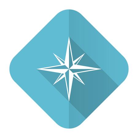 internet explorer: compass flat icon