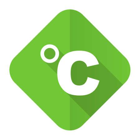 celcius: celsius flat icon temperature unit sign