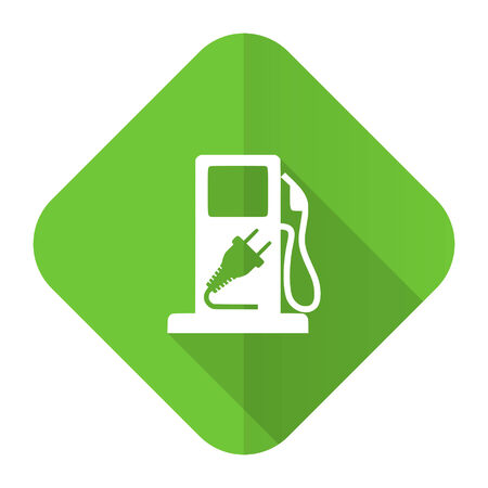 fuel flat icon hybrid fuel sign photo