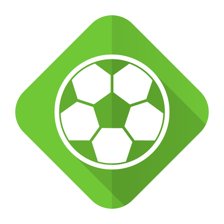 soccer flat icon football sign photo